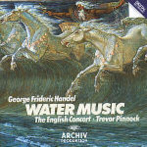 CD Water Music di Georg Friedrich Händel
