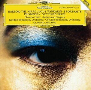 CD Il mandarino miracoloso - 2 Ritratti / Scythian Suite Sergei Sergeevic Prokofiev , Bela Bartok