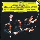 CD Danze ungheresi Johannes Brahms Claudio Abbado Wiener Philharmoniker