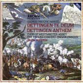 CD Dettingen Te Deum - Dettingen Anthem English Concert Trevor Pinnock Georg Friedrich Händel