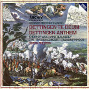 CD Dettingen Te Deum - Dettingen Anthem di Georg Friedrich Händel