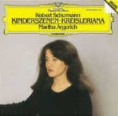 CD Kinderszenen - Kreisleriana Robert Schumann Martha Argerich