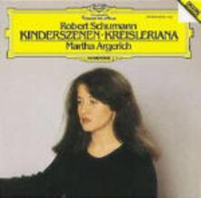 Kinderszenen - Kreisleriana - CD Audio di Robert Schumann,Martha Argerich