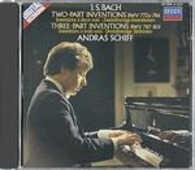 CD Invenzioni a due e a tre voci BWV772a, BWV786, BWV787, BWV801 Johann Sebastian Bach Andras Schiff
