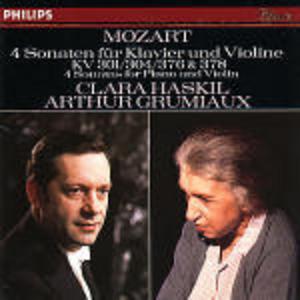 CD Sonate per violino e pianoforte K378, K304, K376, K301 di Wolfgang Amadeus Mozart