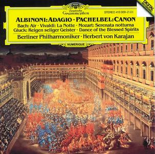 CD Adagio / Canone e giga ed altre composizioni Tomaso Giovanni Albinoni , Johann Pachelbel