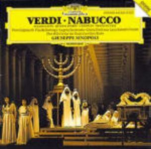 Foto Cover di Nabucco, CD di AA.VV prodotto da Deutsche Grammophon