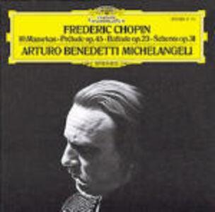 CD Mazurke - Preludio op.45 - Ballata op.23 - Scherzo op.31 di Fryderyk Franciszek Chopin