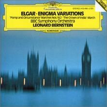Variazioni Enigma - Pomp and Circumstance - Crown of India op.66 - CD Audio di Leonard Bernstein,Edward Elgar,BBC Symphony Orchestra