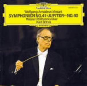 CD Sinfonie n.41, n.40 di Wolfgang Amadeus Mozart