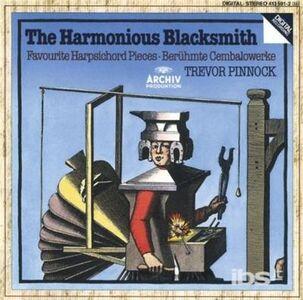 Foto Cover di The Harmonius Blacksmith, CD di Trevor Pinnock, prodotto da Deutsche Grammophon