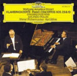 CD Concerti per pianoforte n.23, n.19 di Wolfgang Amadeus Mozart