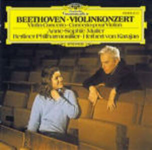 CD Concerto per violino di Ludwig van Beethoven