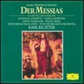 CD Il Messia Georg Friedrich Händel Karl Richter Münchener Bach-Orchester