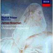 CD Stabat Mater - Nisi Dominus Antonio Vivaldi Christopher Hogwood Academy of Ancient Music