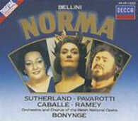 CD Norma Vincenzo Bellini Montserrat Caballé Luciano Pavarotti