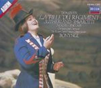 CD La figlia del reggimento di Gaetano Donizetti
