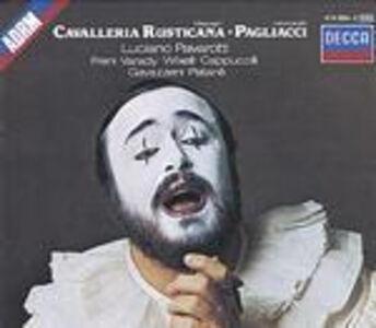 CD Cavalleria rusticana / Pagliacci Pietro Mascagni , Ruggiero Leoncavallo