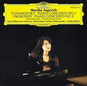CD Concerto per pianoforte n.1 / Concerto per pianoforte n.3 Sergei Sergeevic Prokofiev , Pyotr Il'yich Tchaikovsky