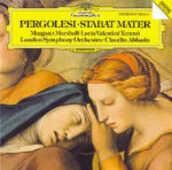 CD Stabat Mater Giovanni Battista Pergolesi Claudio Abbado Lucia Valentini Terrani