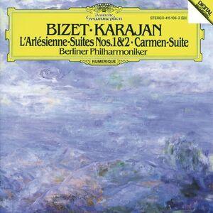 CD Suites da Arlésienne e Carmen di Georges Bizet