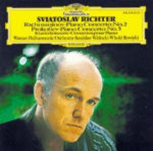CD Concerto per pianoforte n.2 / Concerto per pianoforte n.5 Sergei Sergeevic Prokofiev , Sergei Vasilevich Rachmaninov