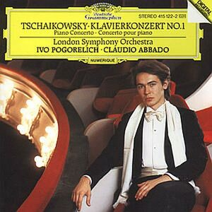 CD Concerto per pianoforte n.1 di Pyotr Il'yich Tchaikovsky