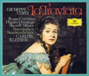 La Traviata - CD Audio di Placido Domingo,Ileana Cotrubas,Sherrill Milnes,Giuseppe Verdi,Carlos Kleiber,Orchestra dell'Opera di Stato Bavarese