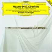 CD Il flauto magico (Die Zauberflöte) Wolfgang Amadeus Mozart Herbert Von Karajan Berliner Philharmoniker