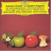CD Le quattro stagioni Antonio Vivaldi Herbert Von Karajan Berliner Philharmoniker