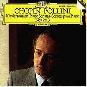 Foto Cover di Sonate per pianoforte n.2, n.3, CD di Fryderyk Franciszek Chopin,Maurizio Pollini, prodotto da Deutsche Grammophon