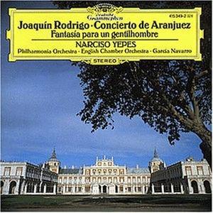 CD Concerto di Aranjuez - Fantasia para un gentilhombre di Joaquin Rodrigo