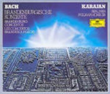 Concerti brandeburghesi completi - CD Audio di Johann Sebastian Bach,Herbert Von Karajan,Berliner Philharmoniker