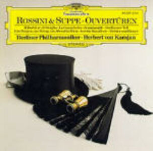 Foto Cover di Ouvertures, CD di Gioachino Rossini,Franz Von Suppé, prodotto da Deutsche Grammophon