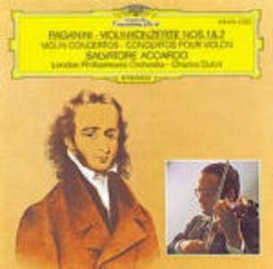CD Concerti per violino n.1, n.2 di Niccolò Paganini