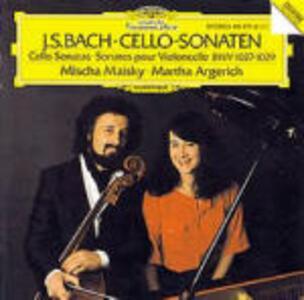 Sonate per violoncello BWV1027, BWV1028, BWV1029 - CD Audio di Johann Sebastian Bach,Martha Argerich,Mischa Maisky