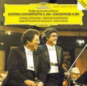 CD Sinfonia concertante K364 - Concertone K190 di Wolfgang Amadeus Mozart