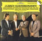 CD Concerti per pianoforte BWV1060, BWV1061, BWV1063, BWV1065 Johann Sebastian Bach Gerhard Oppitz Christoph Eschenbach