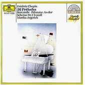 CD 26 Preludi op.28 Fryderyk Franciszek Chopin Martha Argerich