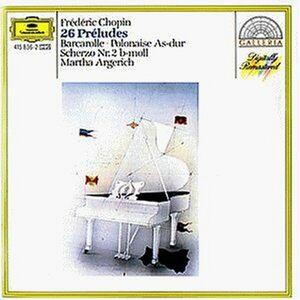 Foto Cover di 26 Preludi op.28, CD di Fryderyk Franciszek Chopin,Martha Argerich, prodotto da Deutsche Grammophon