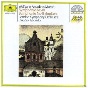 Foto Cover di Sinfonie n.40, n.41, CD di AA.VV prodotto da Deutsche Grammophon