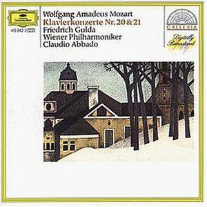 Foto Cover di Concerti per pianoforte n.20, n.21, CD di AA.VV prodotto da Deutsche Grammophon