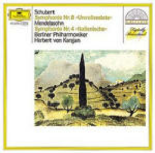 CD Sinfonia n.8 / Sinfonia n.4 Franz Schubert , Felix Mendelssohn-Bartholdy