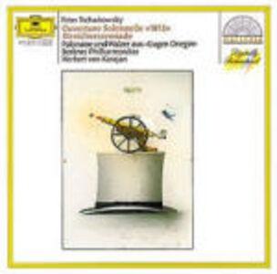 CD Ouverture 1812 - Serenata per archi - Polonaise di Pyotr Il'yich Tchaikovsky