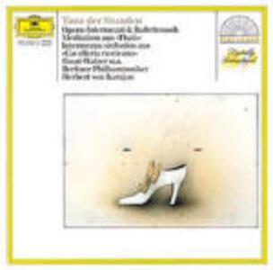 Danza delle ore - Intermezzi - Musica da balletto - CD Audio di Amilcare Ponchielli,Herbert Von Karajan,Berliner Philharmoniker