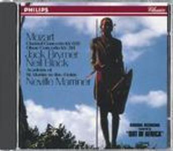 CD Concerto per clarinetto - Concerto per oboe di Wolfgang Amadeus Mozart