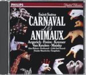 Il Carnevale degli animali (Le Carnaval des animaux) - CD Audio di Camille Saint-Saëns