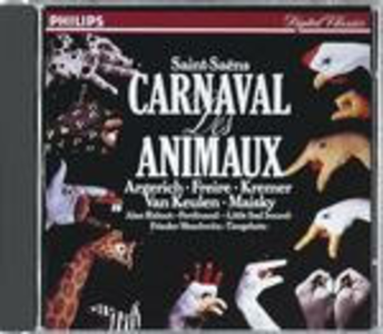 CD Il Carnevale degli animali (Le Carnaval des animaux) di Camille Saint-Saëns