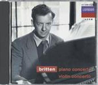 CD Concerto per pianoforte - Concerto per violino di Benjamin Britten