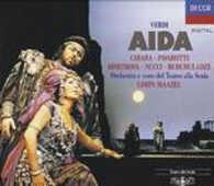 CD Aida Luciano Pavarotti Giuseppe Verdi Lorin Maazel